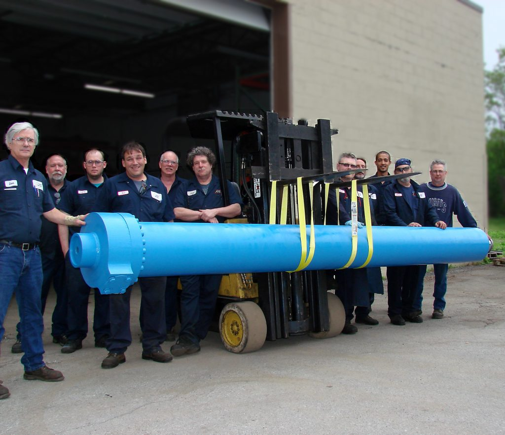 Hydraulic Cylinder Parts & Repair - Cylinder Services Inc