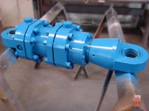A custom mill cylinder we just built. They like them heavy duty!