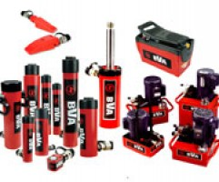 BVA Hydraulic Cylinders and Pumps